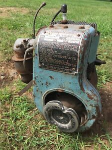 Vintage Wisconsin Model Bkn Stationary Gas Engine Motor