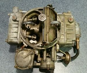 Holley Spread Bore Carburetor Complete Free Shipping In Usa