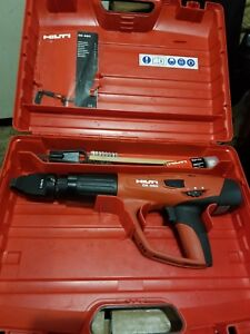 Hilti Dx 460 Powder Actuated Fastening Tool W X 460 f8 Attachment Pre Owned
