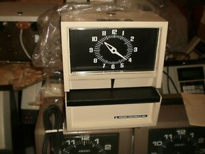 Amano Cincinnati Employee Time Clock Model E010051ssee