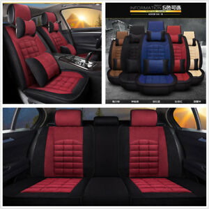 Car Seat Covers Plush Cushion Cover For Car Seat Protector Keep Warm Red black