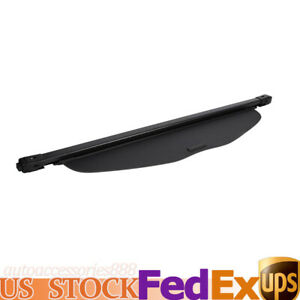 Fit For 14 18 Nissan Rogue S Sv Sl Retractable Trunk Cargo Cover Security Shield