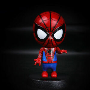 Car Decoration Accessory Dashboard Doll Nod Spider Man Bobblehead Toy Car Orname