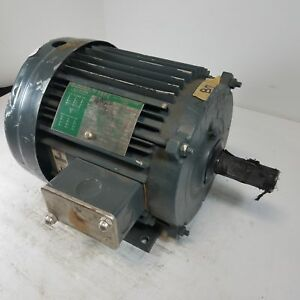 Lincoln Ac Motor Tefc 5hp Electric Motor