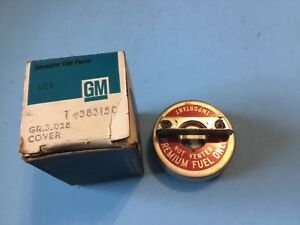 1964 1969 Oldsmobile Cutlass 442 Premium Fuel Only Gas Cap Nos Gm 383150