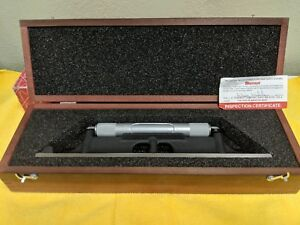 New Starrett Machinist Level 98z 12 No 98 12 Length W Wooden Case And Box New