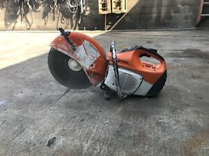Stihl Ts 420 Concrete Cut off Saw With Water Line 14 With Blade