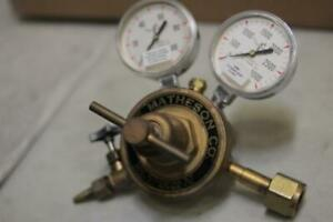 The Matheson Co B010mr b 3000 Psi Inlet Valve gauge chamber Gas Air Pressure
