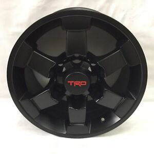 4 Pc 16 Trd Gloss Black Style Rims Wheels Fit Toyota Fj Cruiser 4 Runner New