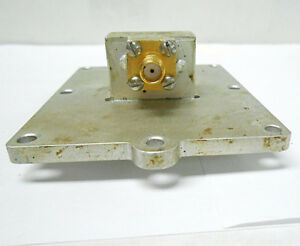 Tr 641942 1 Datron Attenuator Waveguide Adapter Sma New Old Stock