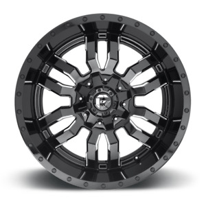 20x9 Sledge Black Wheels 33 Fuel At Tires Package 6x5 5 Toyota Tacoma
