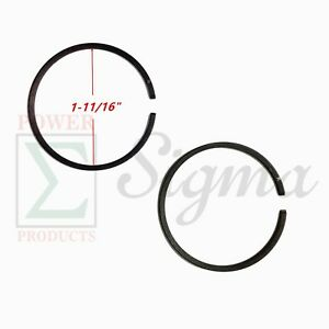 Piston Ring Set For Chicago Electric Storm 900 Watts 60338 66619 69381 Generator