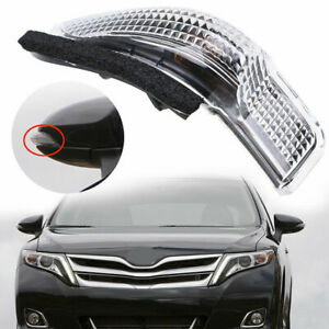 Right Side Rearview Mirror Turn Signal Lamp Fit Toyota Rav4 Camry Venza Prius C