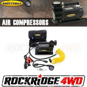 Smittybilt Air Compressor 2 54 Cfm Portable Kit 12 Volt W Nylon Bag 24 Hose