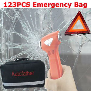 Multifunctional Car Emergency Auto Safety Kits Roadside Assistance First Aid Bag