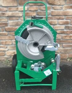 Awesome Greenlee 555 Hydraulic Pipe Bender 1 2 2 single Emt Shoe