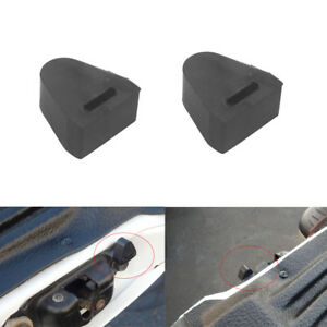 2 Tailgate Latch Rubber Stop Bumpers For Chevrolet Silverado Gmc Sierra Rh Or Lh