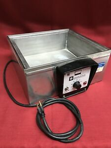 Working Lab Line Scientific Products 004t Heated Water Bath 400 Watts No Lid
