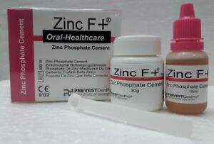5x Permanent Tooth Filling Dental Cement Kit Zinc Phosphate Cement Zinc F