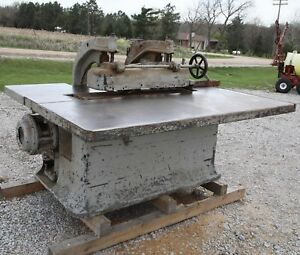 Diehl 75 Staright Line Rip Saw10 Hp 3 Ph 220v