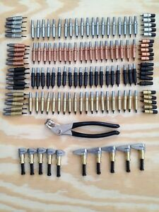 Aircraft Specialty Original Cleco Fastener Premium Kit Cleco Fasteners Clamps