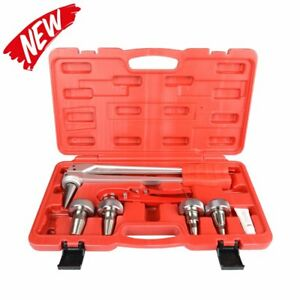 Iwiss Pex Pipe Expansion Tool Kit With 3 8 1 2 3 4 1 Expander Heads And Pex