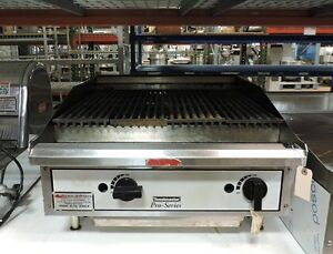 Toastmaster Tlc24 Commercial Lava Rock Gas Charbroiler