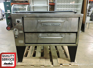 Bakers Pride 251 Commercial Convection Flow Gas Pizza Deck Oven