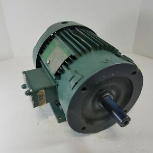 Lincoln Tf 41850 3 Hp 3 Phase Electric Motor Tefc