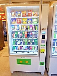 Brand New Combination Vending Machine 1 Year Warranty Comes With Credit Card