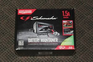 Schumacher Sc1319 1 5a 6v 12v Automatic Battery Maintainer Chargers Jump Testers