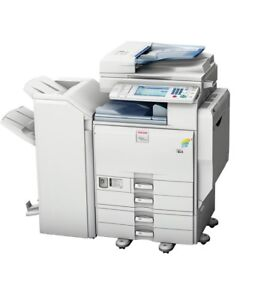 Ricoh Aficio Mp C5501 Multifunction Color Copier Printer Scanner With Finisher
