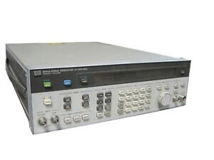 Agilent Keysight Hp 8642a Synthesized Signal Generator 0 1 1050mhz Am Fm 20dbm