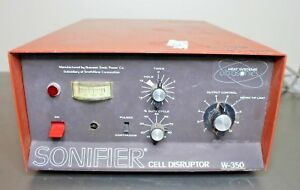 Sonifier Model W 350 Cell Disruptor