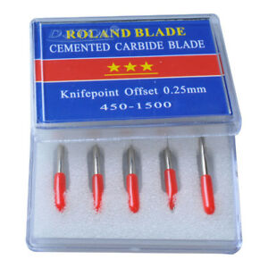 Us Stock 10 Packs N Grade 45 Degree Small Roland Vinyl Cutter Compatible Blades