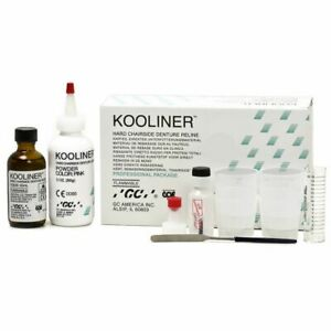Kooliner Hard Chairside Denture Reline Kit Professional Package By Gc Sale