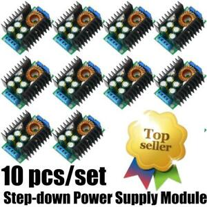 10x Mini 3a Dc dc Converter Adjustable Step Down Power Supply Module Lm2596s Ns
