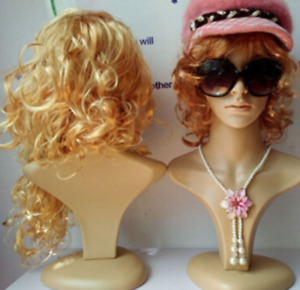 New Professional Heavy Female Wig Mannequin For Wigs Sunglasses jewelry Display