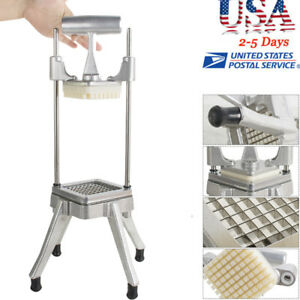 Commercial Vegetable Fruit Dicer Onion Tomato Slicer Chopper Usa Ship