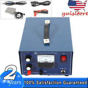 Pulse Sparkle Spot Welder 400w Jewelry Welding Machine Necklace Gold Silver 110v