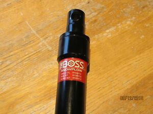 New Oem Boss Snowplow Angle Hyd Cylinder Hyd09731 2006 Up Rt3v Straight