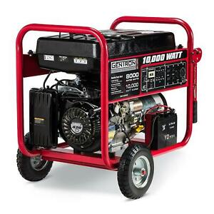 New All Power America 10 000 Watts Electric Start Gasoline Generator Apgg10000
