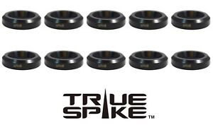 20 Drag Racing Lug Nuts Flat Seat Wheel Adapter Washers To 60 Degree Tapered