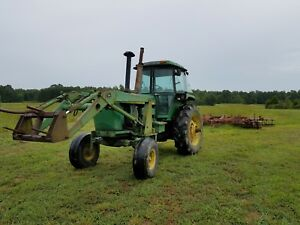 John Deere 4630 With Jd158loader