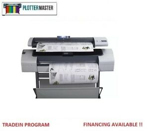 Hp T1120sd Mfp 44 Printer Plotter Blueprint Wide Format Print Copy Scan