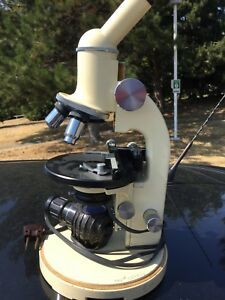 Optical Microscope M11 Wild Heerbrugg Free Shipping Tracking Provided