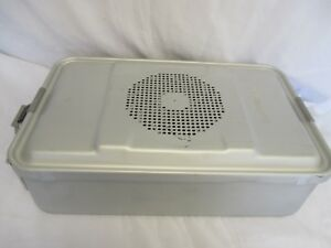 Sterilization Container Case Aesculap Jk741 Jk789 Pre Owned