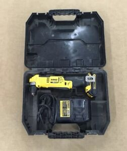 Dewalt Dcd740 3 8 Vsr Cordless Right Angle Drill Driver With Case