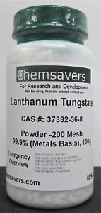 Lanthanum Tungstate Powder 200 Mesh 99 9 metals Basis 100g