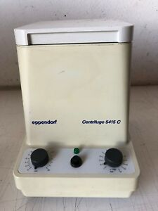 Eppendorf 5415c Centrifuge With F 45 18 11 Rotor